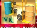 Hand Truck  55 Gallon Drums High Res