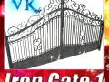 Wrought Iron Gate 01