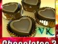 Chocolate Candy Heart Shaped