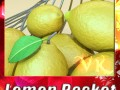 Lemons in Decorative Metal Wire Container