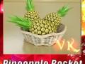Pineapples in Wicker Basket 10