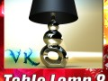 Modern Contempo Table Lamp 08
