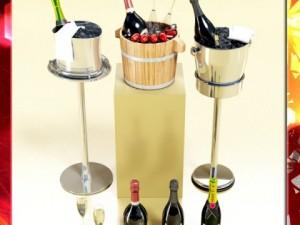 Champagne Ice Bucket Set