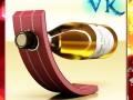 Wine Rack 5 and White Wine Bottle