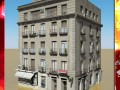 Photorealistic Low Poly Building 8