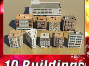 10 Buildings Collection