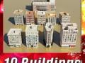 3D Models Building Collection 11  20