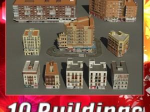 3D Models Building Collection 51  60