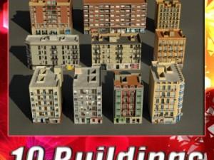 3D Models Building Collection 91  100