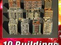3D Models Building Collection 91  100
