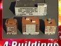 3D Models Building Collection 1  4