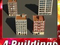 3D Models Building Collection 9  12