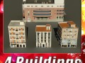3D Models Building Collection 13  16