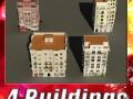 3D Models Building Collection 37  40