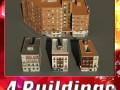3D Models Building Collection 53  56