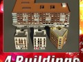 3D Models Building Collection 57  60
