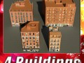 3D Models Building Collection 61  64