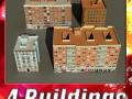 3D Models Building Collection 69  72