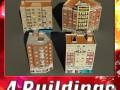 3D Models Building Collection 77  80