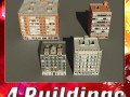 3D Models Building Collection 81  84