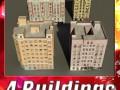 3D Models Building Collection 85  88
