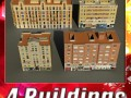 3D Models Building Collection 101  104