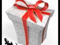 Cartoon Style Gift Box