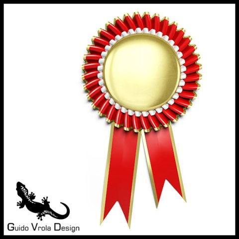 Award rosette 3D Model