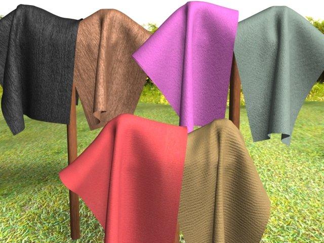 Cloth 6Pack 2 3D Model