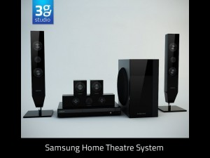 Samsung D453 Home Theatre System