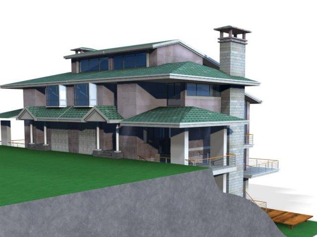 Villa 048 3D Model