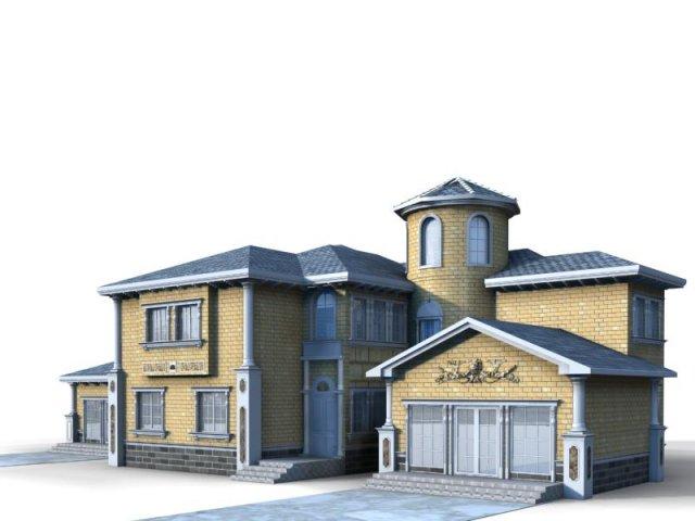 Villa 033 3D Model