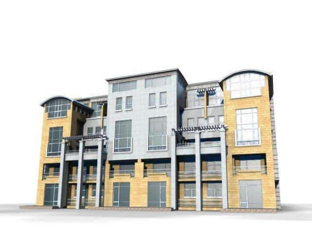Villa 055 3D Model