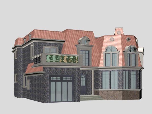 Villa 093 3D Model