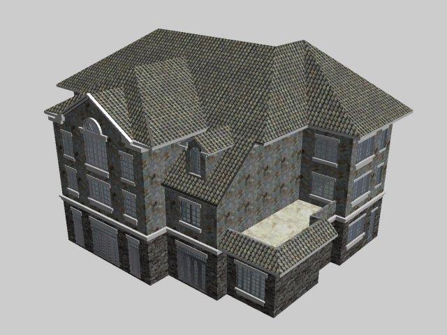 Villa 097 3D Model