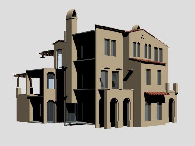 Villa 167 3D Model