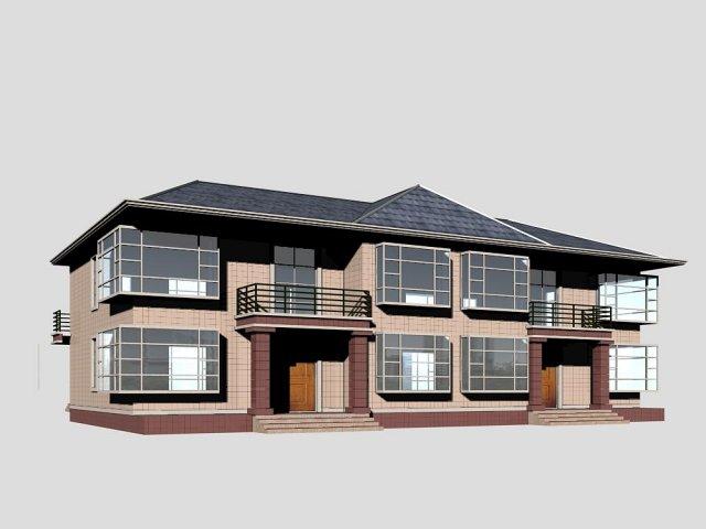 Villa 181 3D Model