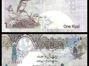 Currency in Qatar Textures