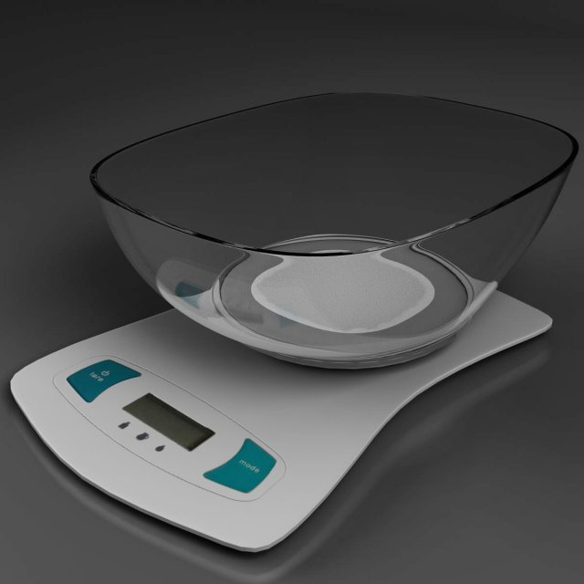 Scales 3D Model
