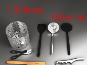 Kitchen utensils kit