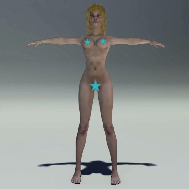 Valeria 3D Model