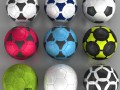 Set soccerball