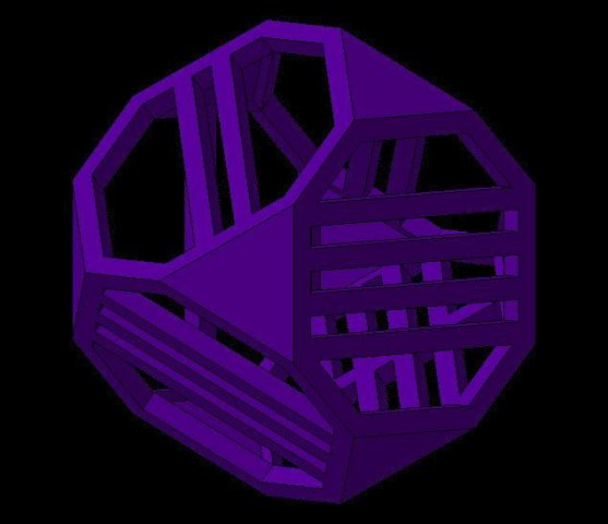 Dice5 3D Model