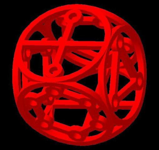 Dice6 3D Model
