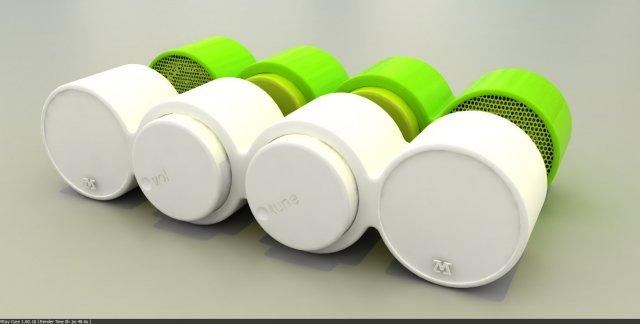 M Designers Stereo 3D Model