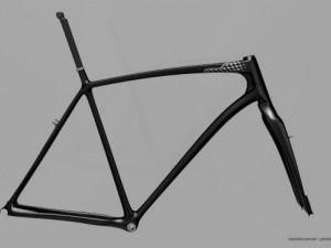 Merida Cyclo Cross Carbon Team 2012 frame set