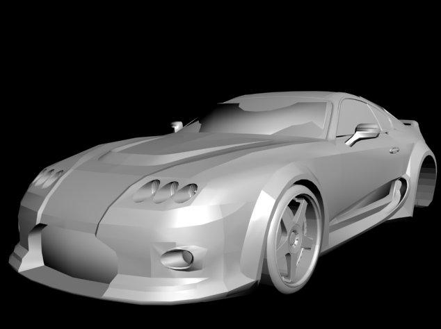 Toyota Supra Veilside 3D Model
