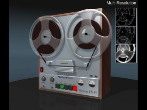 Reel Tape Recoder