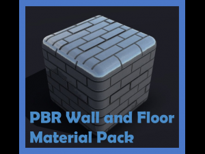 Physically Based Wall and Floor Material Pack