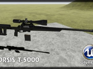 Orsis T5000 UE4 ready